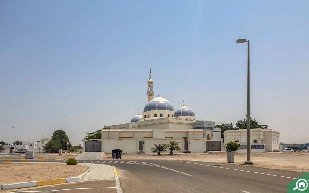 Mosque in Al Shuwaihean