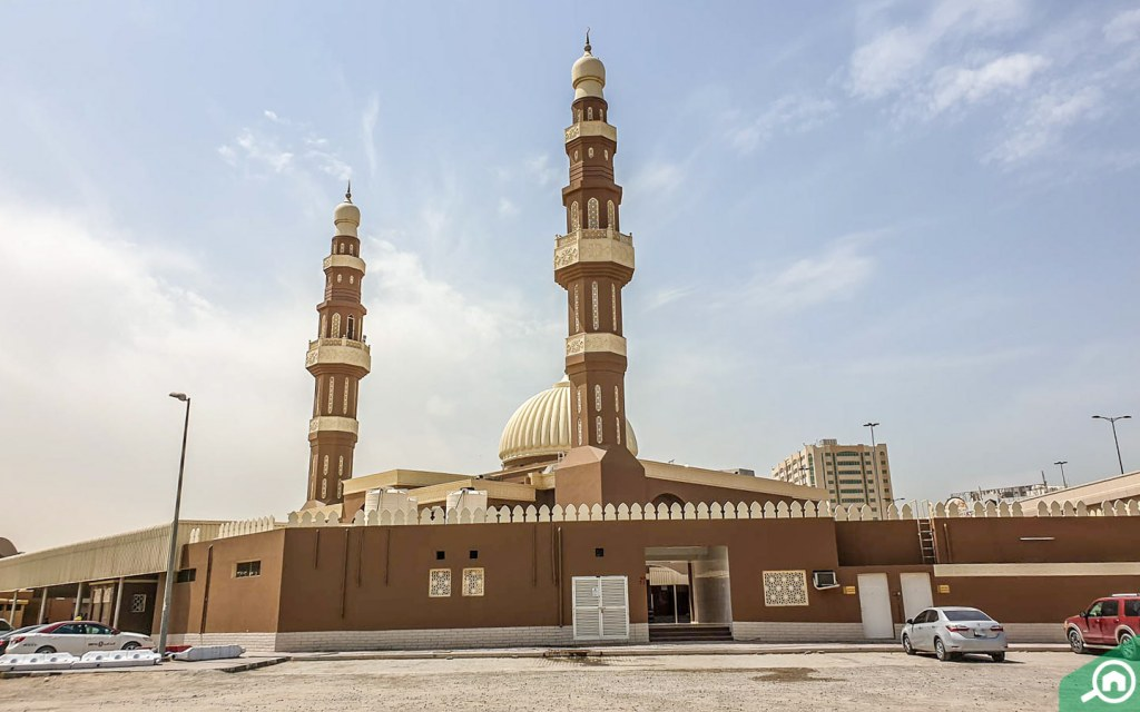 Mosque in Al Ghubaiba