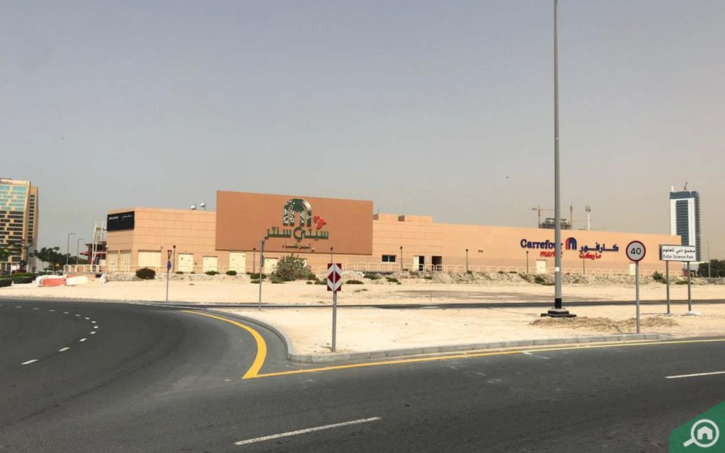 Mall near Arjan
