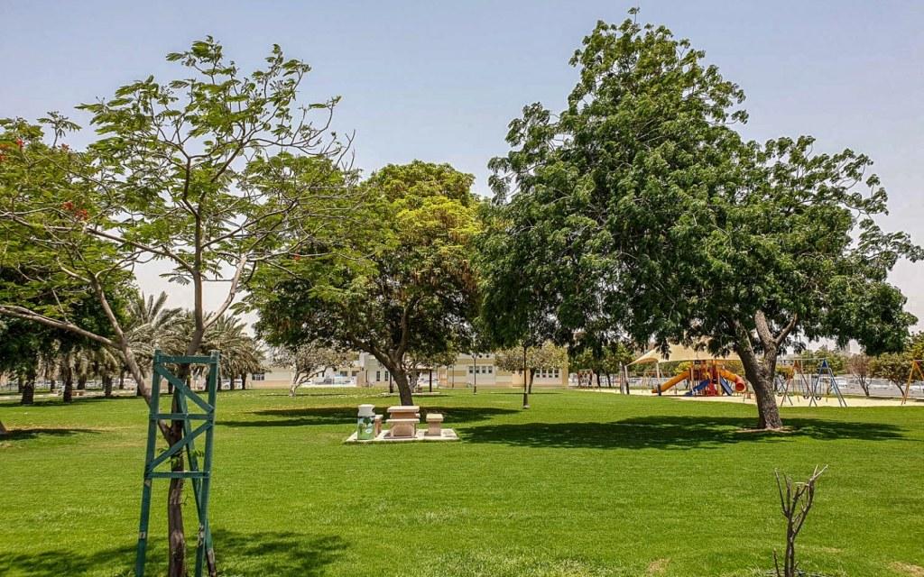Nasseriya Park in Bu Tina