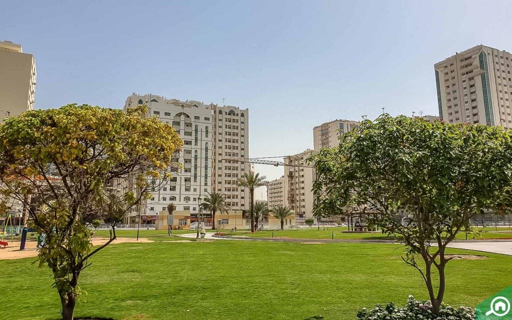 Abu Shagara Park in Abu Shagara