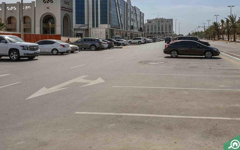 Parking in Al Khawaneej