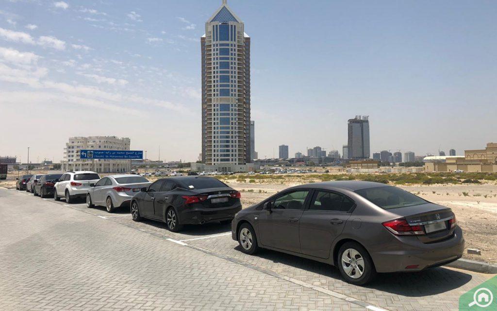 Parking space in Arjan