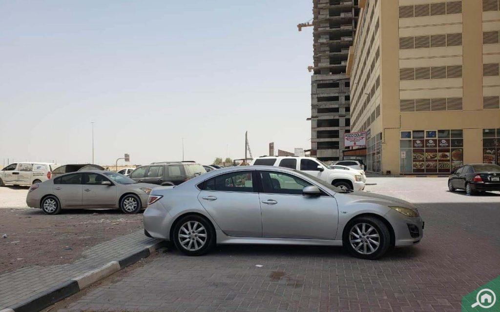 Parking in Emirates City Ajman