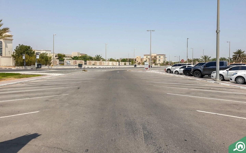 parking spaces in Al Bahia