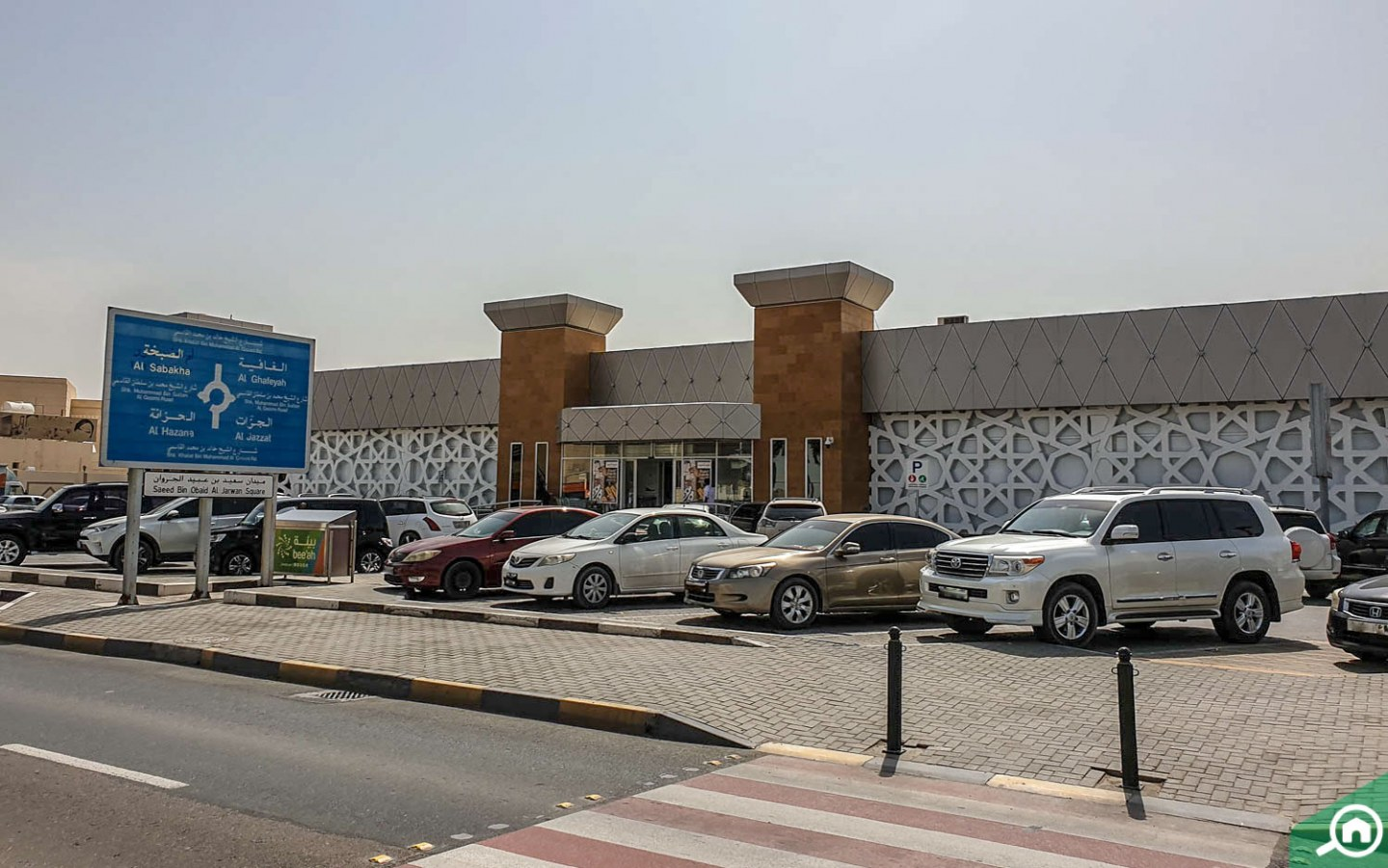 Parking spaces in Al Sabkha