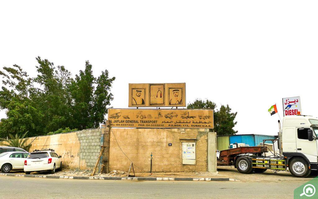 Transport in Ras Al Khor