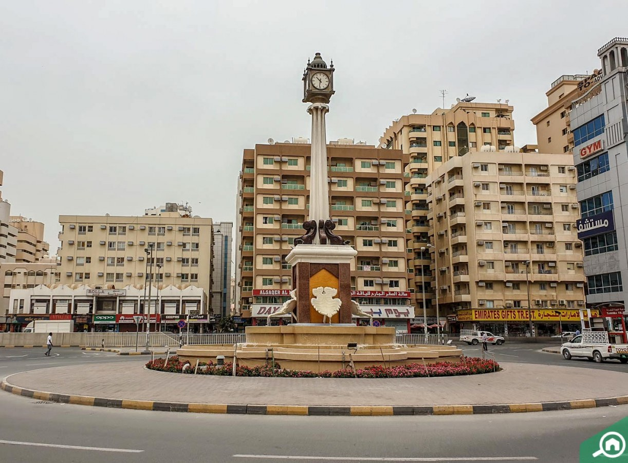 nearby areas of al mahatah in sharjah