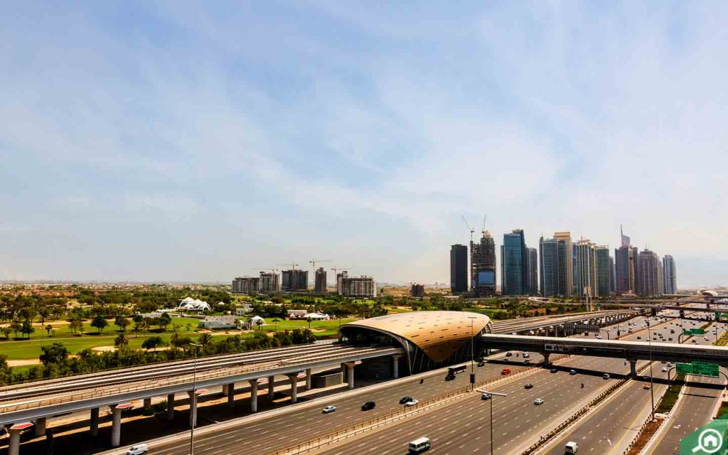 طريق الشيخ زايد