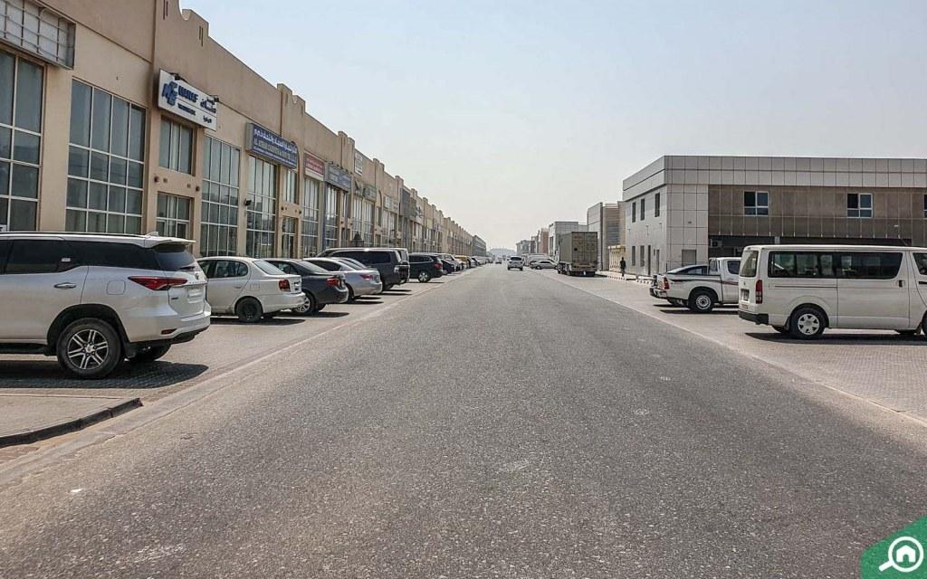 streets of Industrial Area Sharjah