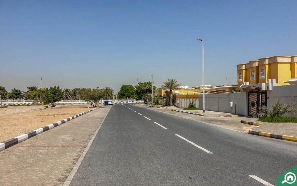 community near Al Gharayen