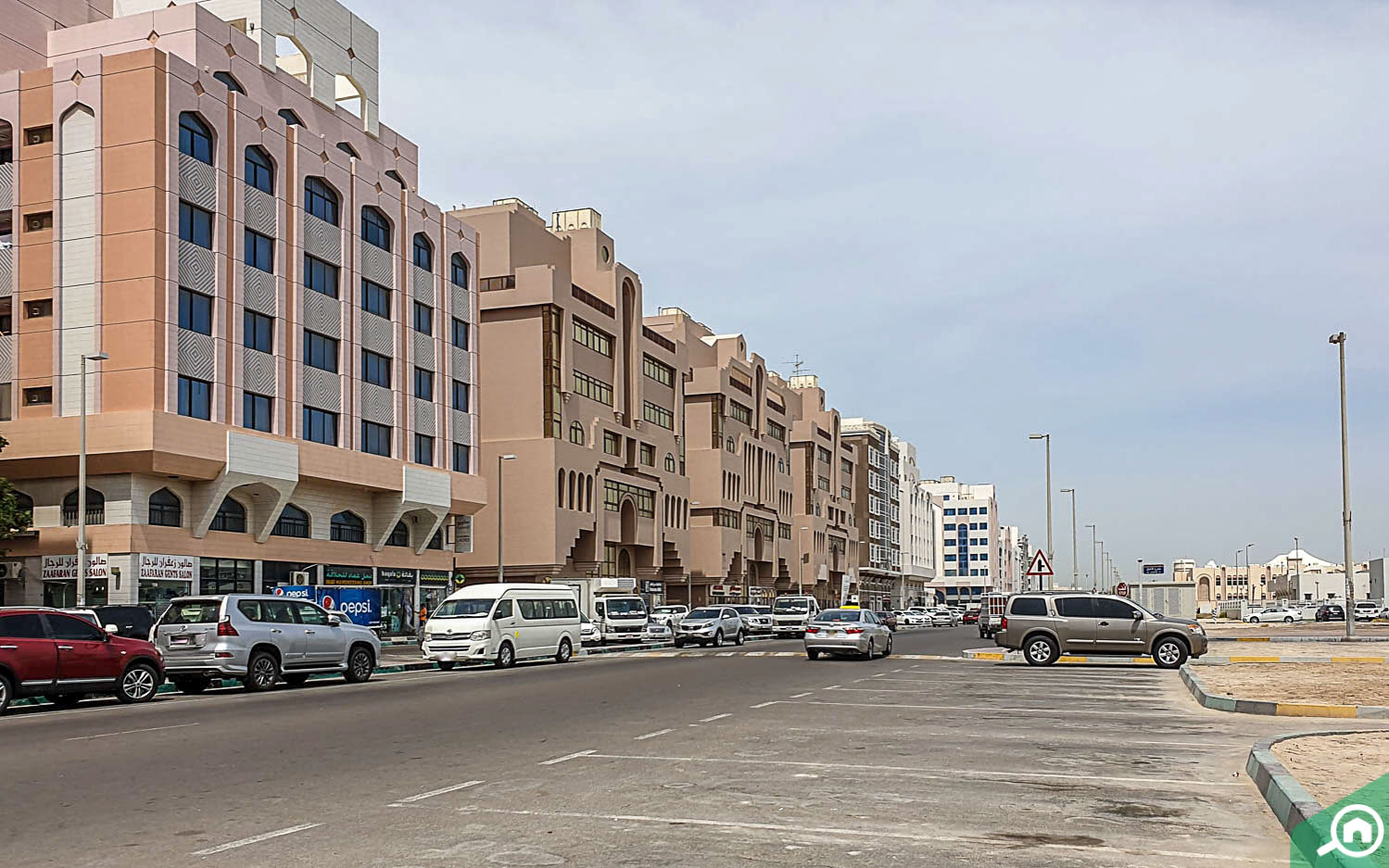 Street view of Hoshi