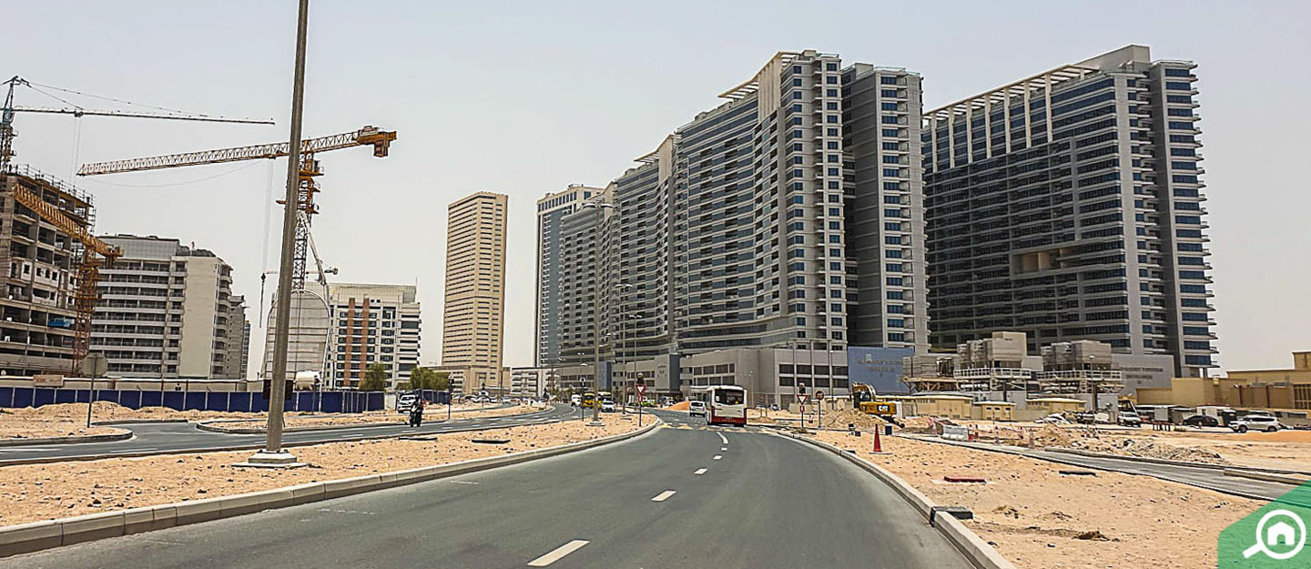 living in Dubai residence Complex