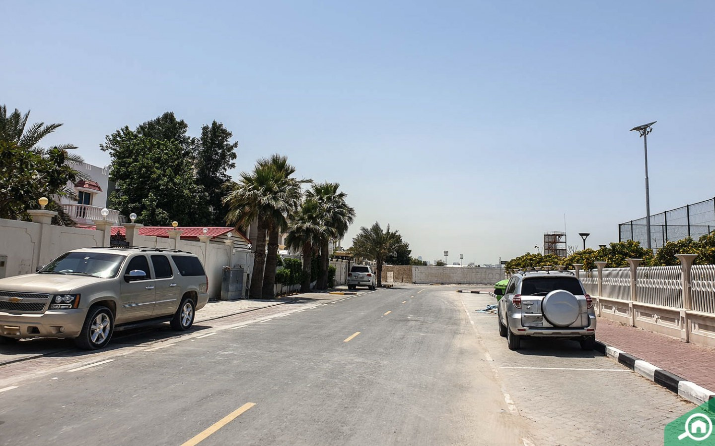 Street view Al Nekhailat
