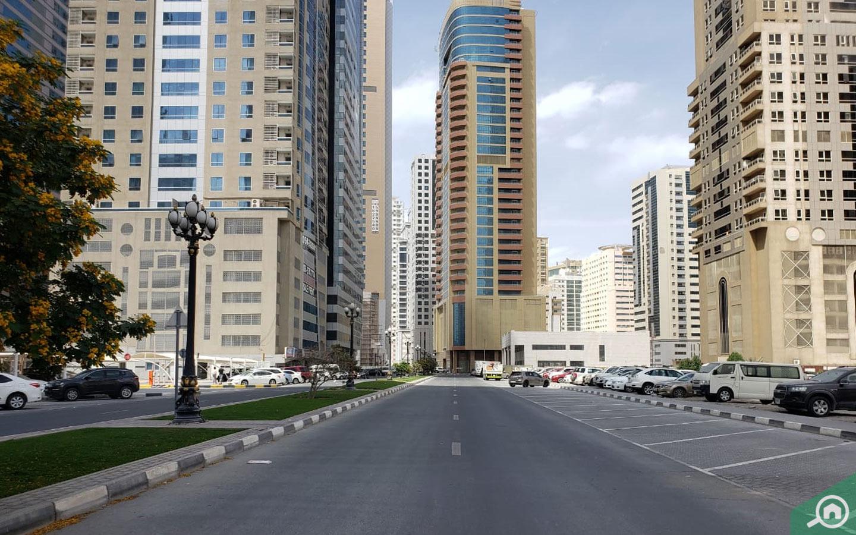 Street view of Al Qasba