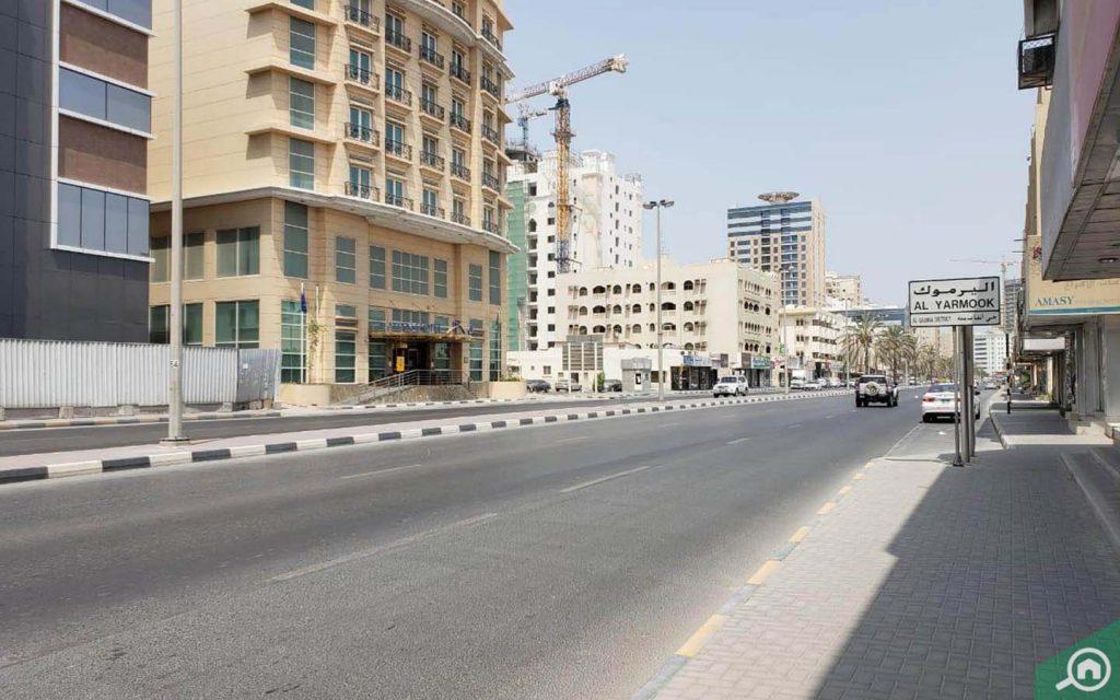Street view of Yarmook