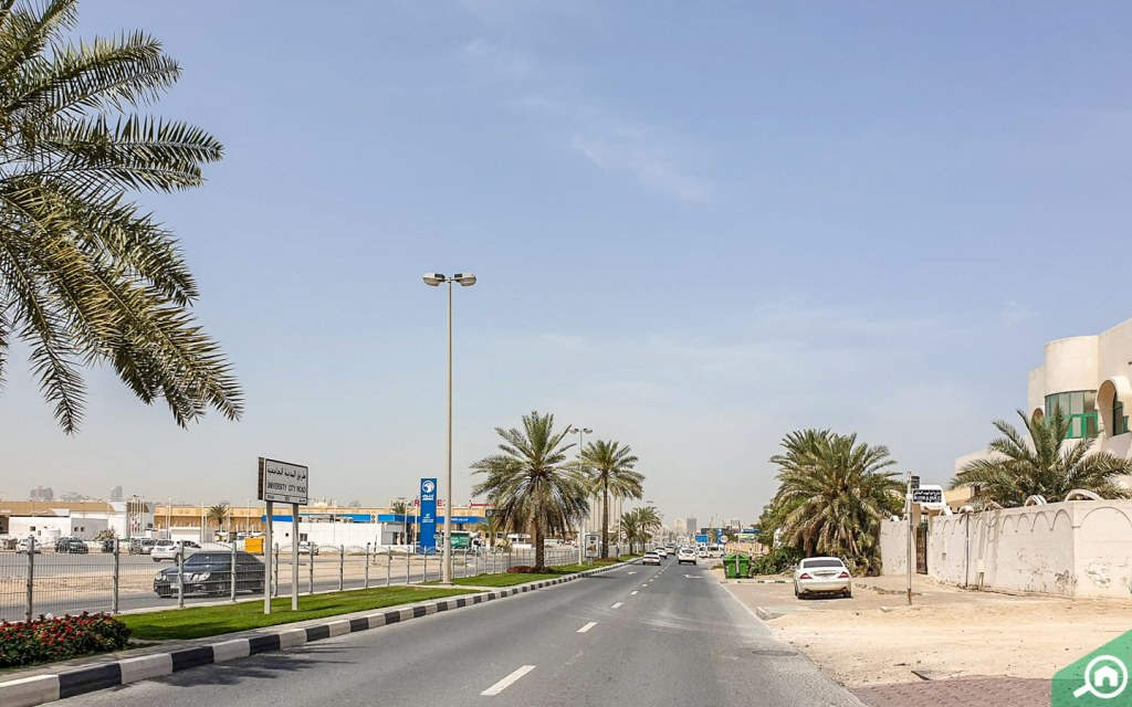 University City Road Al Ghubaiba