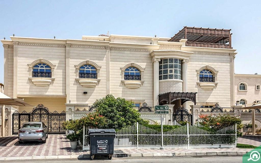Large villas in Al Hamidiyah