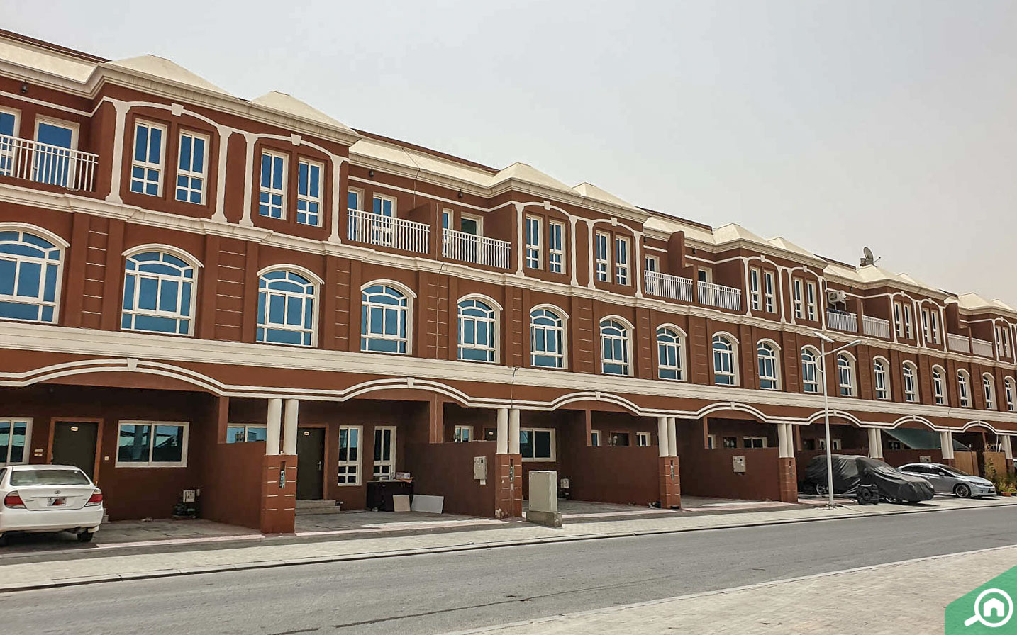 villas with parking spaces in ajman uptown