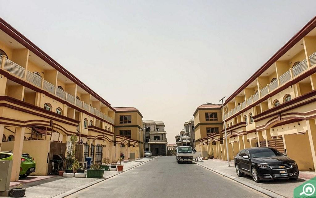 villas in ajman uptown