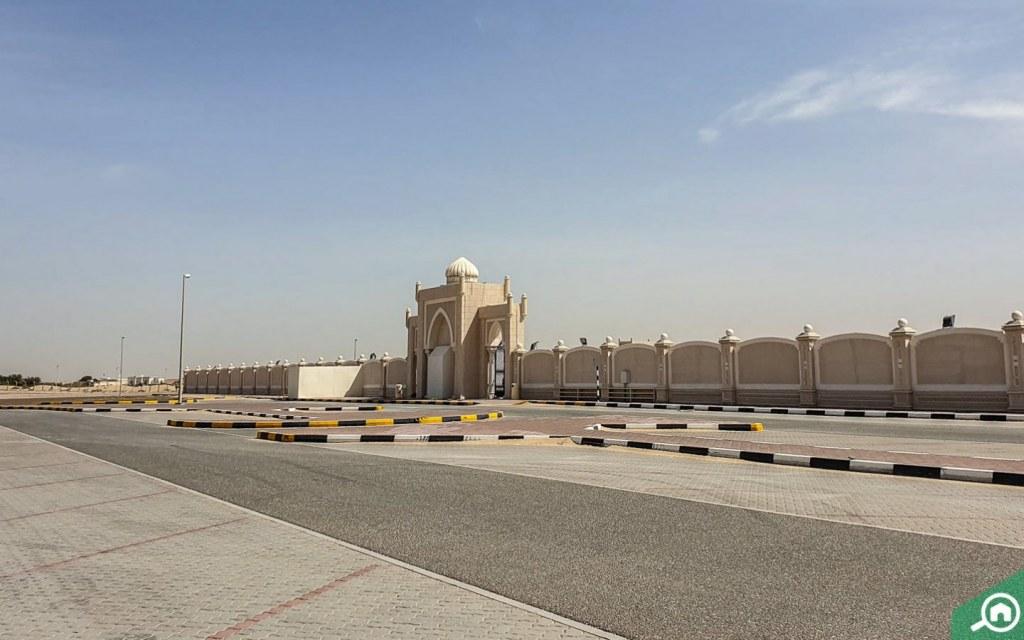 parking spaces in Al Gharayen