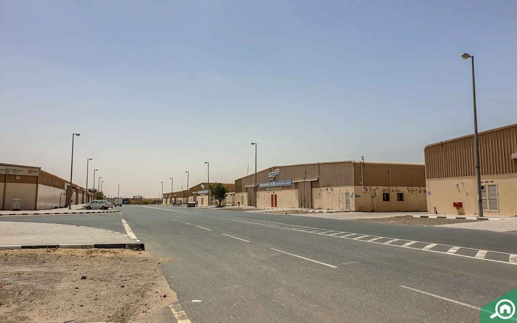 Warehouses in Emirates Industrial City