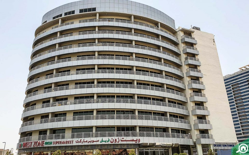 supermarket in Dubai Residence Complex