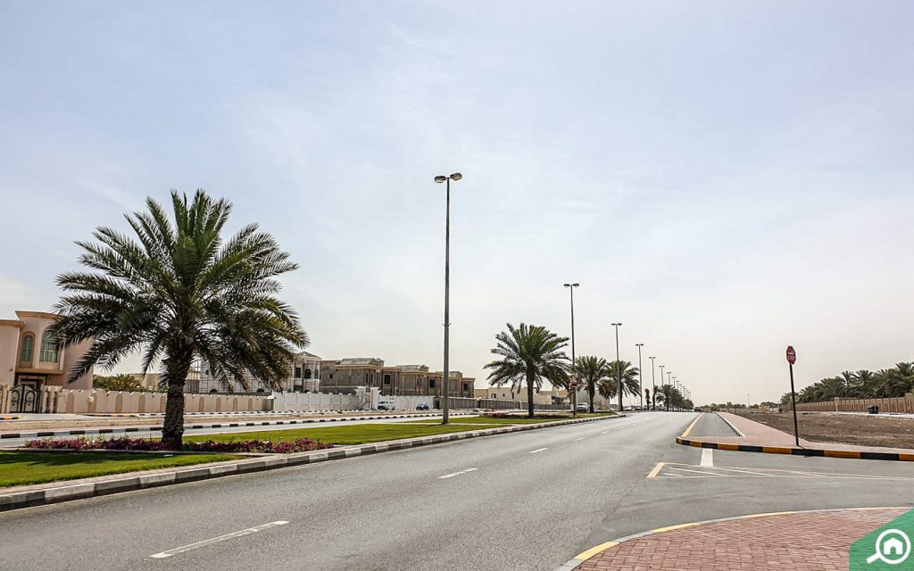 Al Gharayen streets