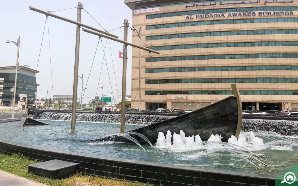 al hudaiba awards building