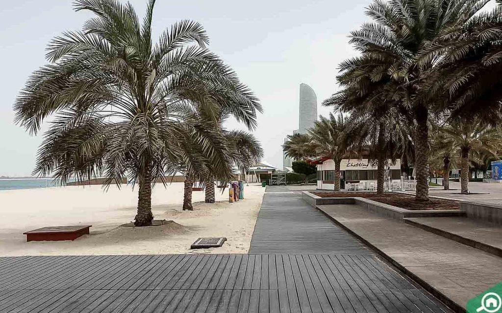 beach view in Corniche Area