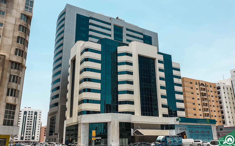 residential building in al mahatah