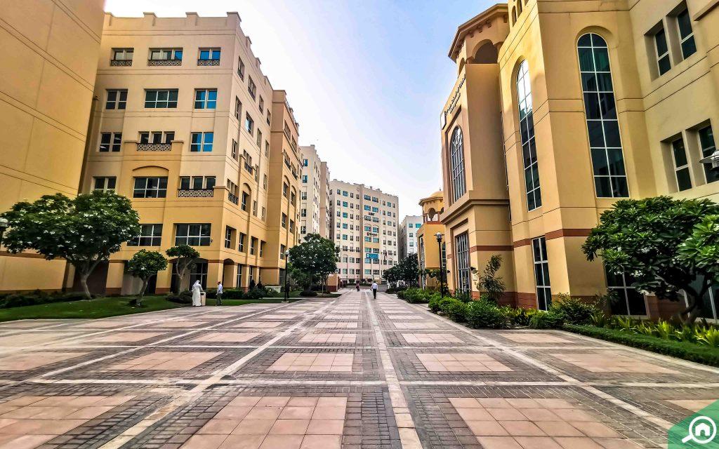 Buildings in Academic City