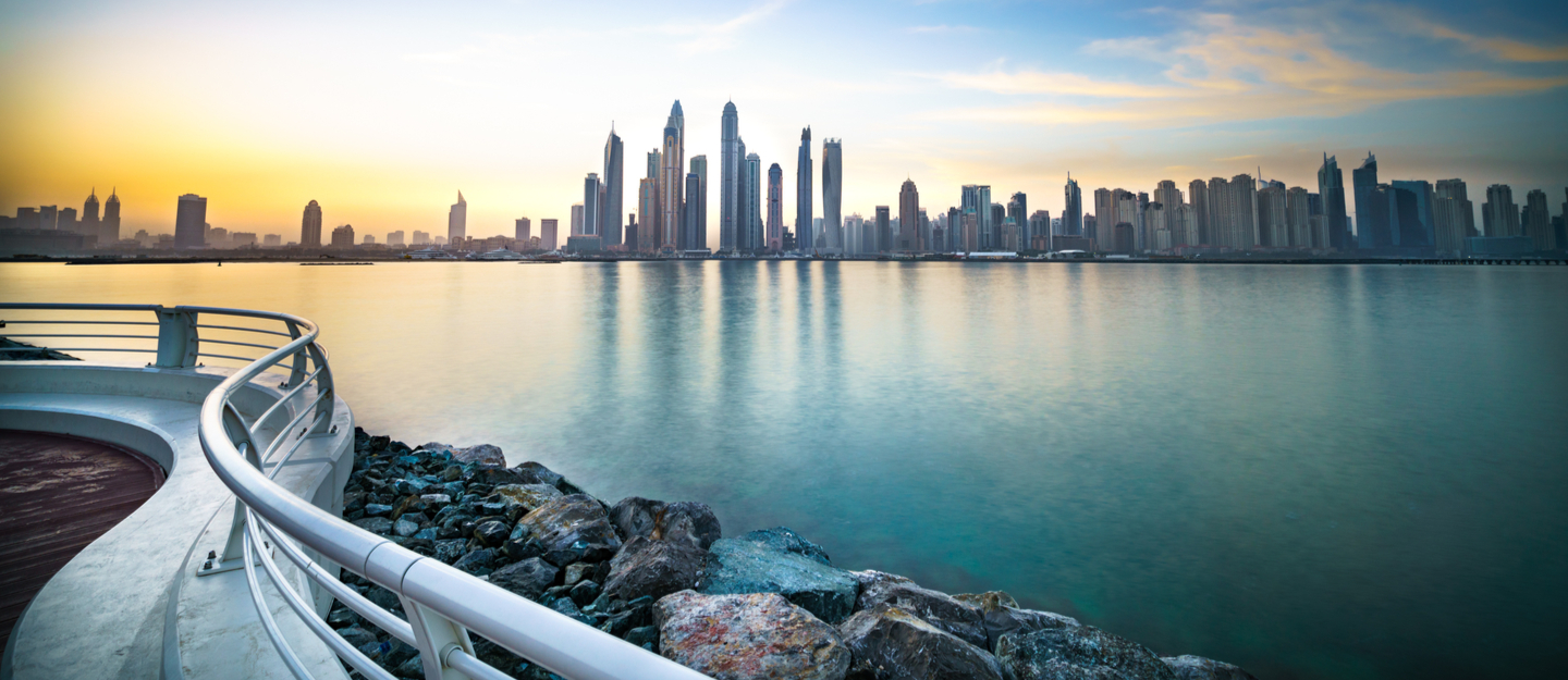 living in dubai waterfront