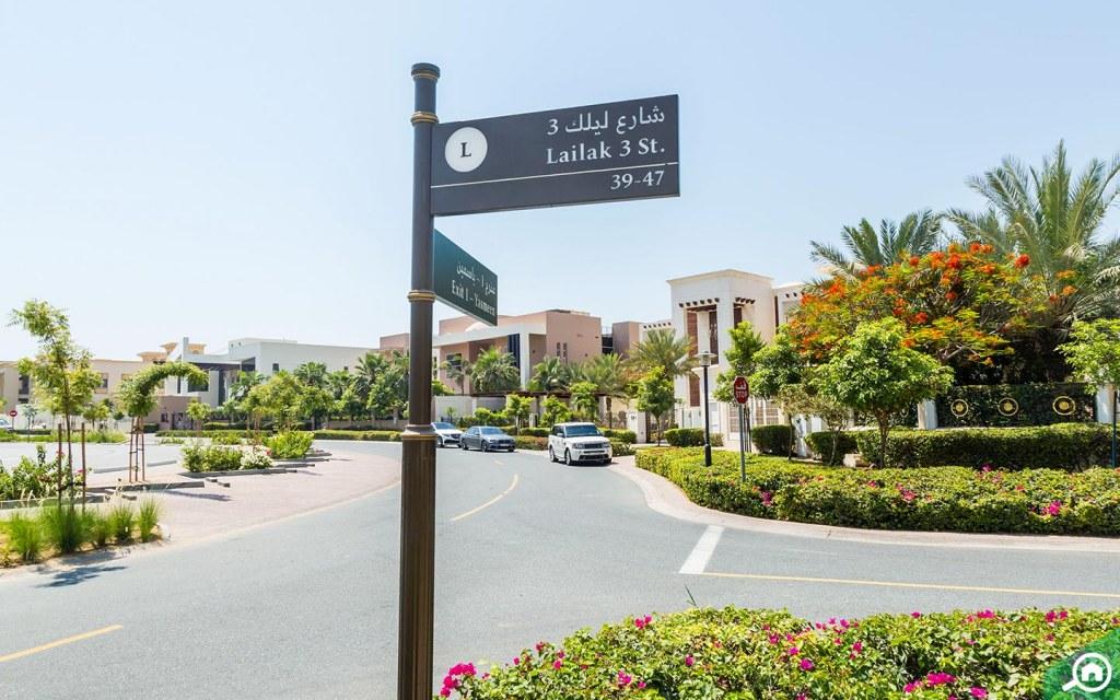 Lailak Street in Emirates Hills