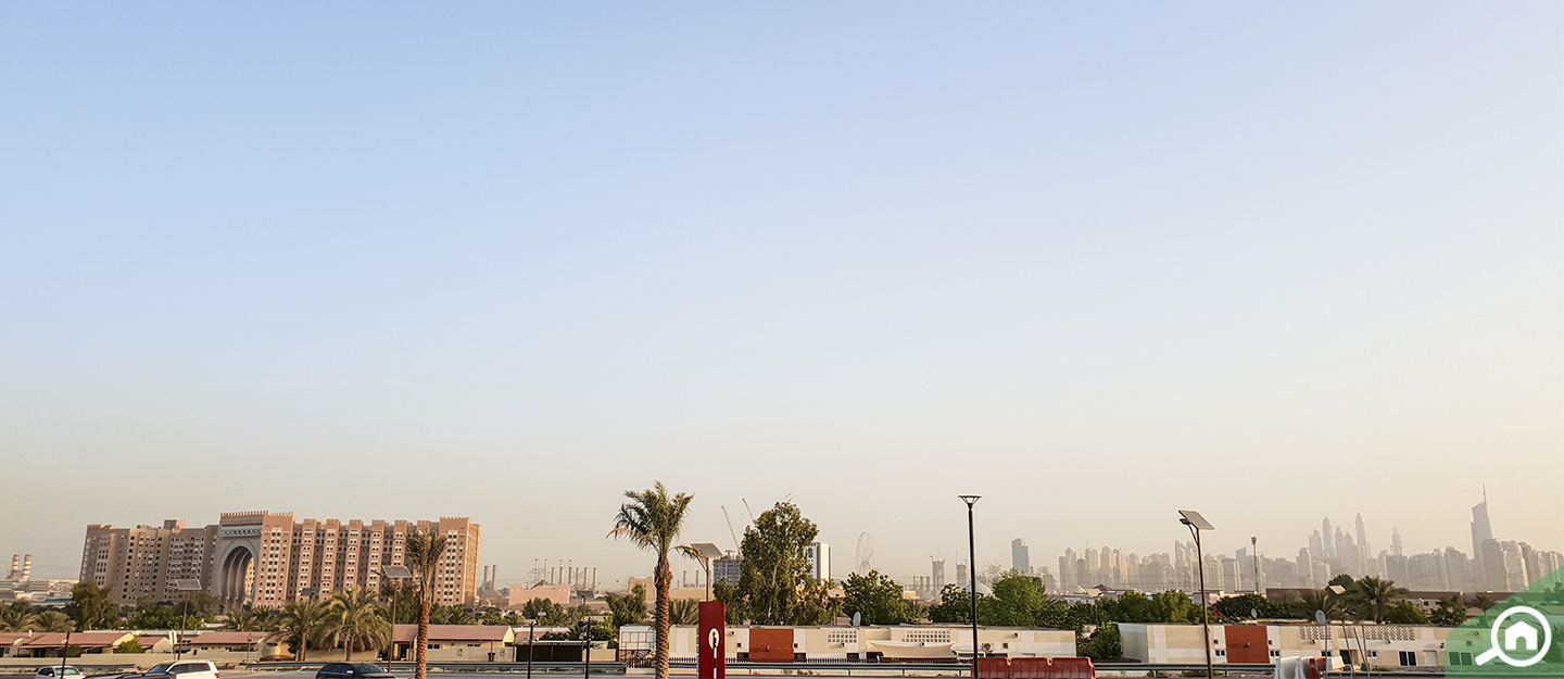 living in downtown jebel ali