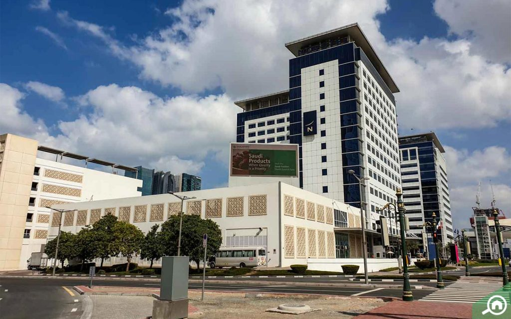 novotel hotel in dubai world trade centre