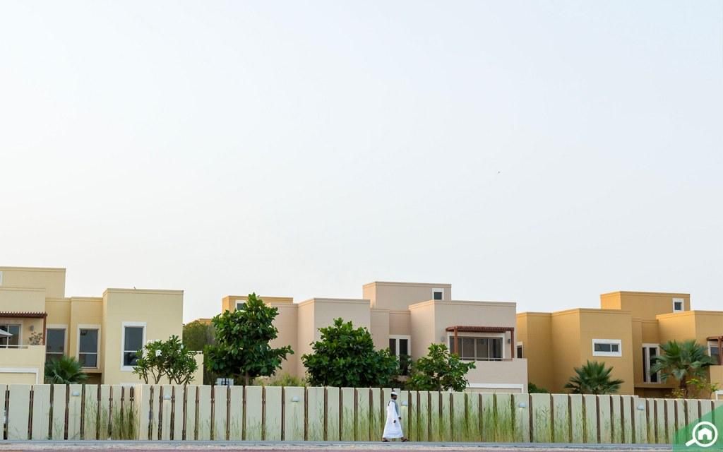 Wide range of Villas Al Raha Gardens