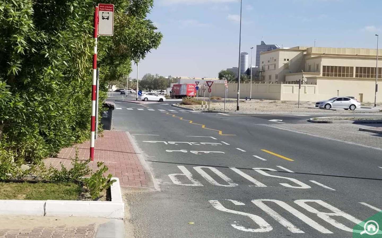 bus station in Al Barsha 3