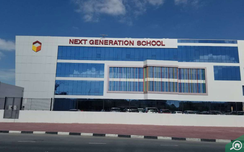 Next Generation School in Al Barsha 3