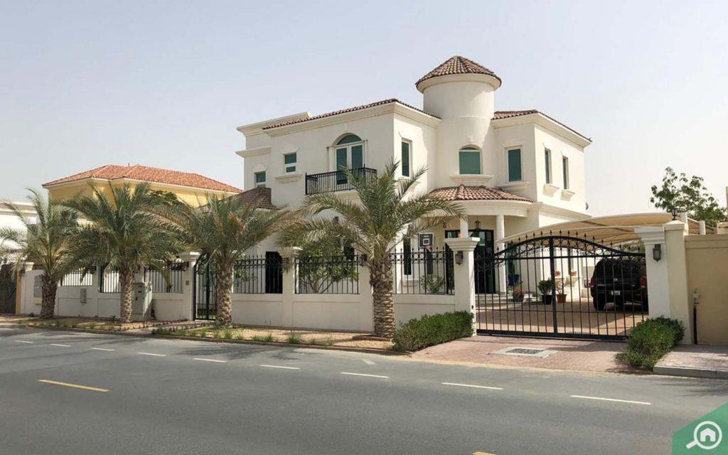 villas in al barsha south