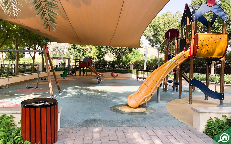 Children's play area in Casa