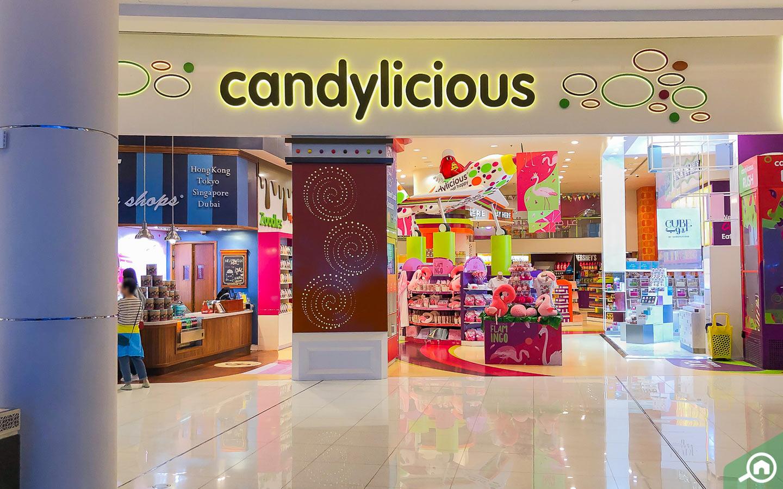 Shops in Dubai Mall near Hayat Townhouses