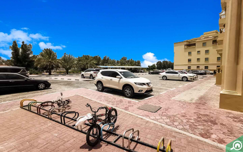 parking spaces in Yasmin Village