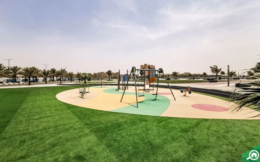 parks on al marjan island