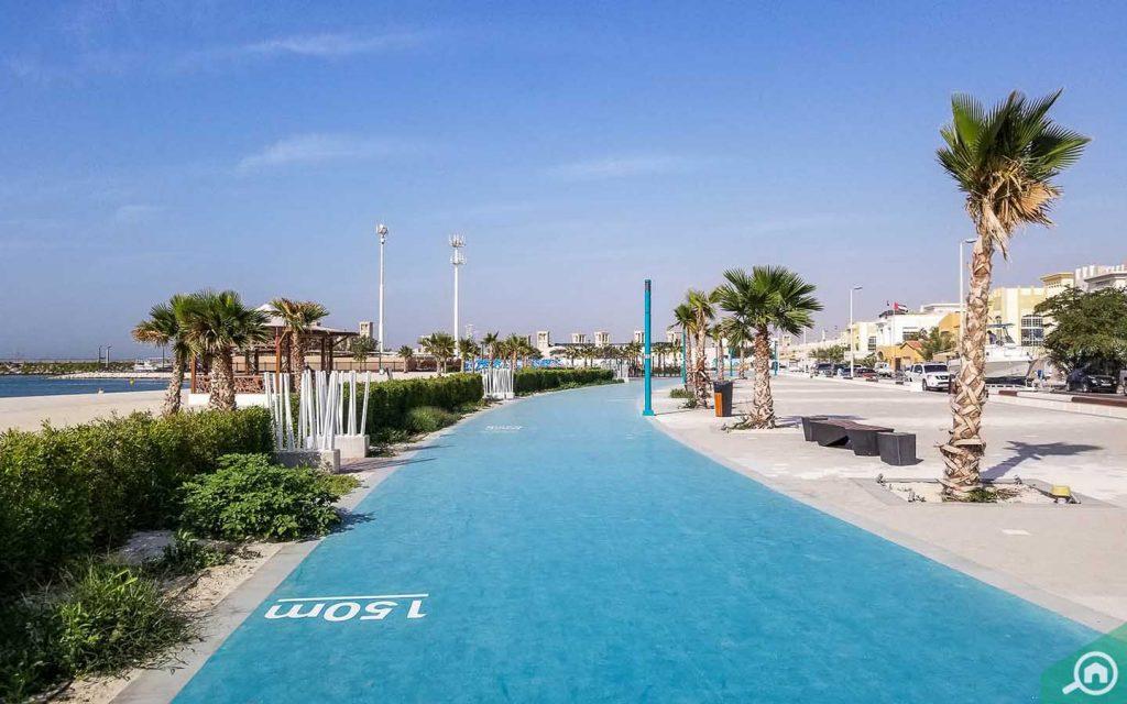 jumeirah beach jogging track