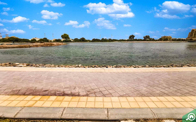 waterfront views in Yasmin Village