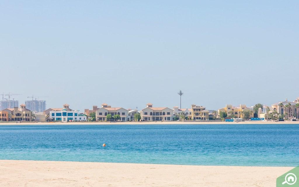 beach in palma jumeirah
