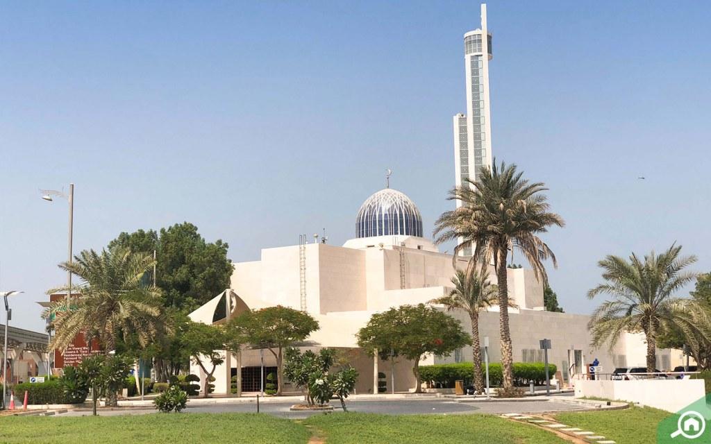 mosque near palma residences