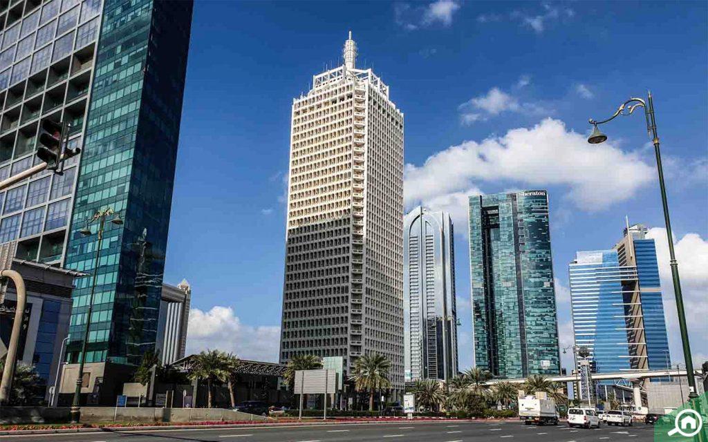 برج الشيخ راشد مركز التجاري دبي
