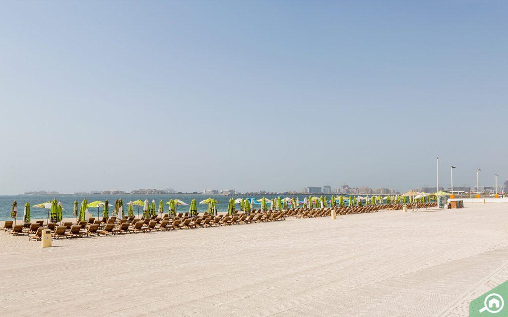 serene views of JBR Beach Dubai